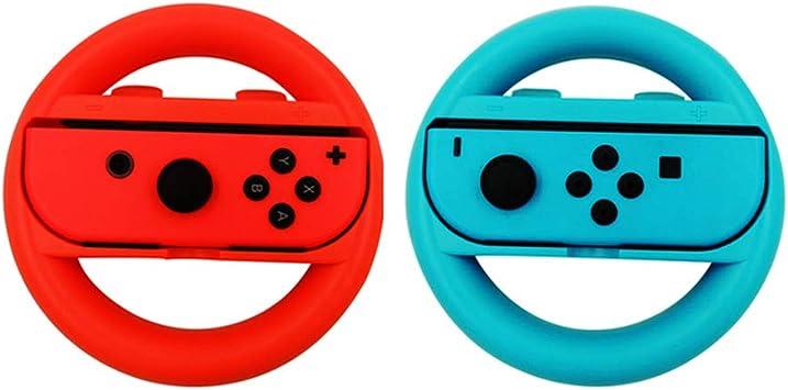 2 Volantes para Nintendo Switch, empuñadura cómoda para Consola de ...