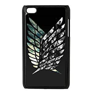 Attack On Titan For Ipod Touch 4 Csae protection phone Case FX270731