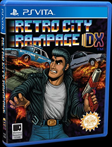 Retro City Rampage DX - PS Vita (Limited Physical Version) (Retro Ps4 Rampage City)