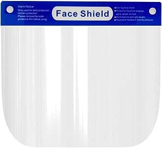 درع حماية الوجه المقاوم للضباب والقابل للتعديل لتغطية الوجه بشكل كامل، مقاوم للغبار والرياح لحماية العينين والوجه مع شريط مرن