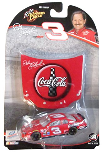 Dale Sr Earnhardt Race (Dale Earnhardt Sr #3 Red Coca Cola 1998 Monte Carlo 1/64 Scale 1st Head to Head Race With Dale Jr Motegi Japan With Bonus Magnet Hood Winners Circle)