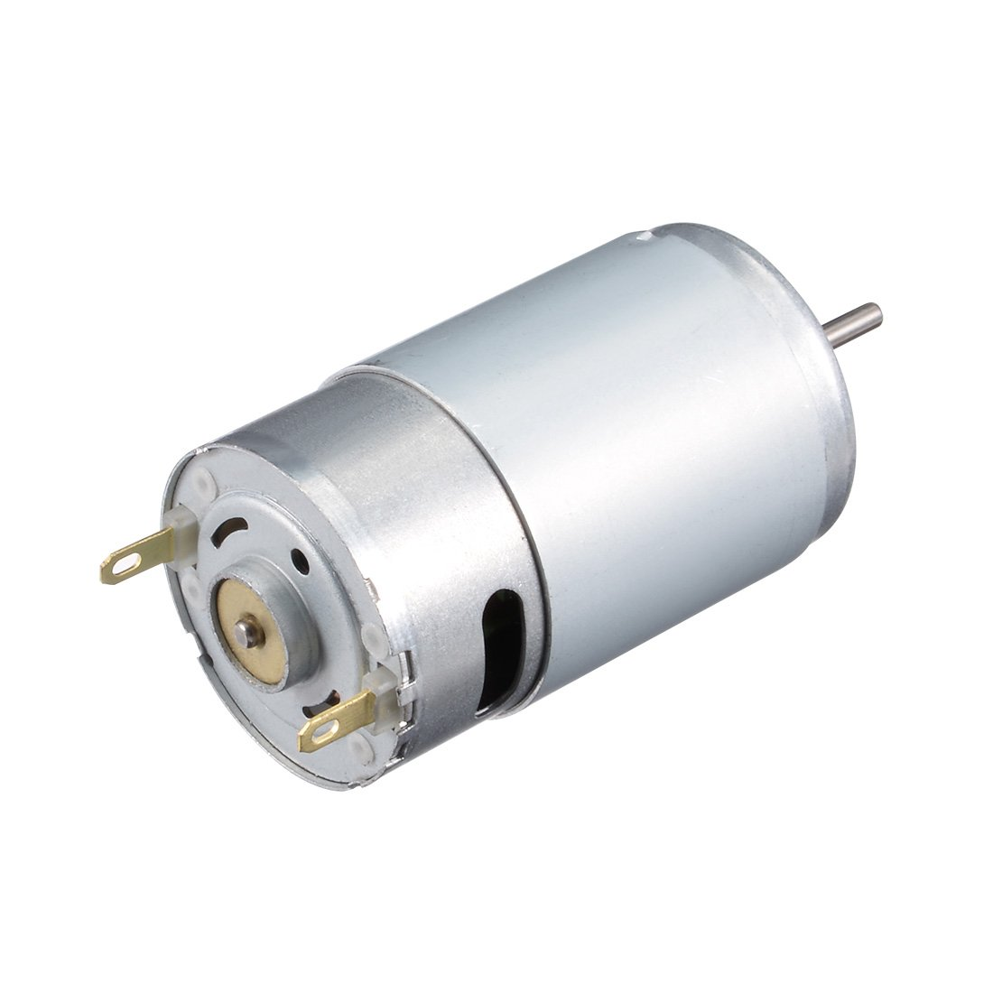 sourcing map DC Motor 12V 4500RPM Electric Motor Double Shaft for RC Boat Toys Model DIY Hobby