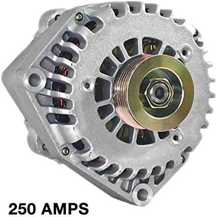 Rareelectrical NEW HIGH AMP 250A ALTERNATOR COMPATIBLE WITH 1996-05 GMC YUKON DENALI 5.3 6.0 15755616W 10480388