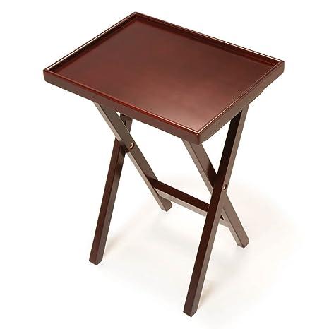 De lujo plegable mesa auxiliar