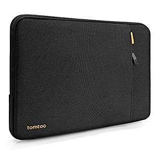 tomtoc 360 Protective Laptop Sleeve for 15 inch New Microsoft Surface Book 3/2, 16-inch MacBook Pro, 15 ASUS Zenbook VivoBook, Lenovo IdeaPad 500 Series, ThinkPad X1 Extreme Gen 2 15, Notebook Bag