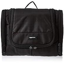 AmazonBasics Hanging Travel Toiletry Kit Bag - Black