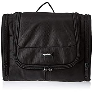 AmazonBasics Hanging Travel Toiletry Kit Bag