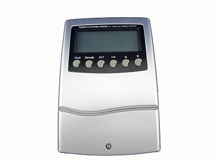 Amazon.com: MISOL CONTROLLER de calentador de agua solar/1 ...