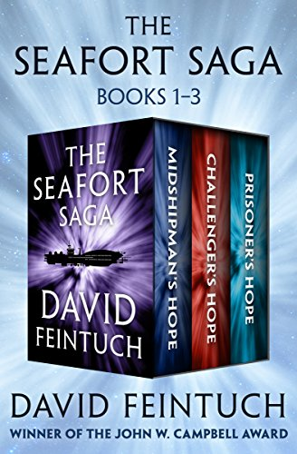 The Seafort Saga Books 1–3: Midshipman's Hope, Challenger's Hope, and Prisoner's Hope cover
