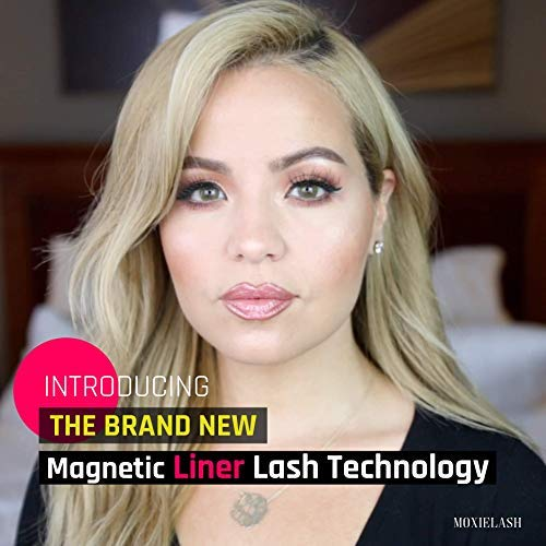 MoxieLash Magnetic Gel Eyeliner for Magnetic Eyelashes - No Glue & Mess Free - Fast & Easy Application - Brush Included by MoxieLash (Image #1)