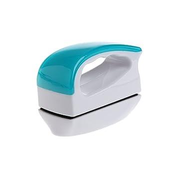 Dabixx Cepillo magnético para acuario, acuario, pecera, algas, cristal, limpiador flotante, Azul y blanco, Medium: Amazon.es: Hogar