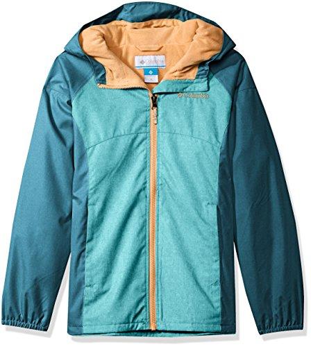 - Columbia Big Girl's Endless Explorer Jacket, Geyser, Aegean Blue, M