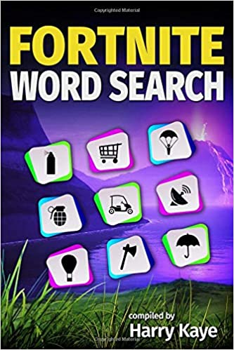 Fortnite Word Search Battle Royale Locations Skins Emotes Bling