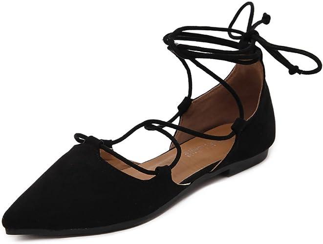 Meeshine Womens D'Orsay Pointy Toe