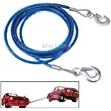 5 Tons Steel Vehicle Towing Cable Rope, Length: 4m