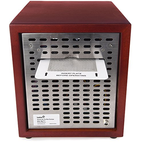 Ivation Ozone Generator Air Purifier, Ionizer & Deodorizer – Purifies Up to 3,500 Sq/Ft – Great for Dust, Pollen, Pets, Smoke & More by Ivation (Image #2)