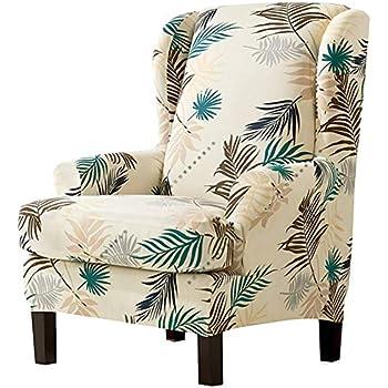 Amazon.com: Feian 2 fundas elásticas para sillón de ...