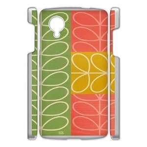 Cell Phone case orla kiely Cover Custom Case For Google Nexus 5 MK9Q771868