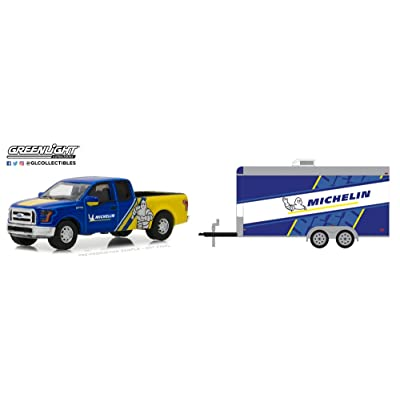 Greenlight 1:64 2016 Ford F-150 - Michelin Tires Racing Die Cast Vehicle: Toys & Games