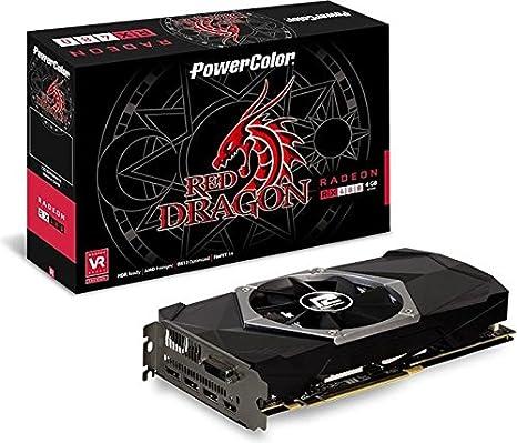 PowerColor Red Dragon AXRX480 4GBD5-3DHDV2 - Tarjeta gráfica ...
