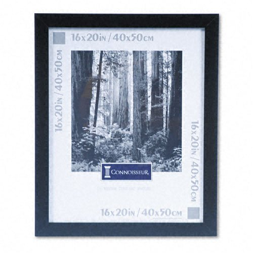 DAX : Black Wood Poster Frame with Plexiglas Window, Wide Profile, 16 x 20 -:- Sold as 2 Packs of - 1 - / - Total of 2 Each