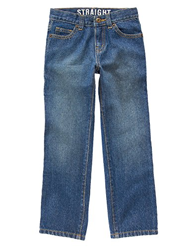 Kids Medium Wash - Crazy 8 Husky Boys' Kid Boy Medium Wash Straight Fit Jeans, Medium Wash, 10 Husky