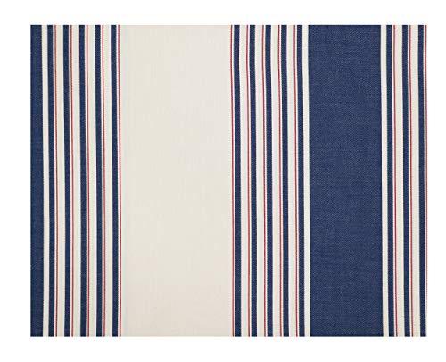 (Ralph Lauren Saranac Peak/Corbet Striped Queen Extra Deep Fitted Sheet Tan/Multi Color 100% Cotton)