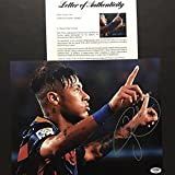 Autographed/Signed Neymar Jr. FC Barcelona Soccer Futbol 11x14 Photo PSA/DNA COA/LOA #2