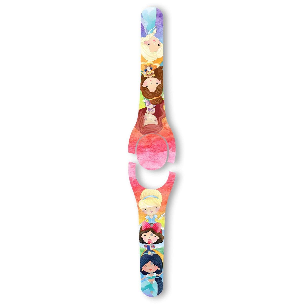Amazon com watercolor princess decal for the disney magic band 2 magicband 2 0 skin handmade