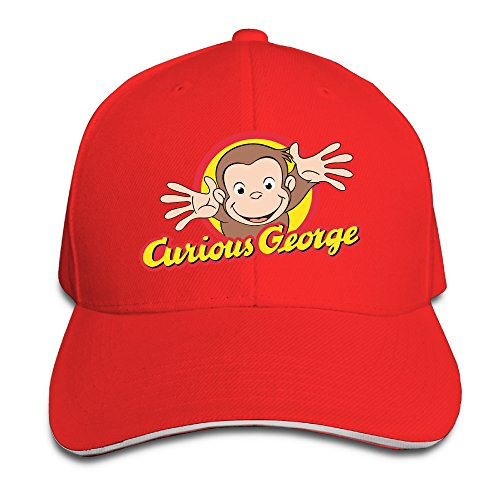 Curious George Hat (Unisex Curious George Baseball Cap)