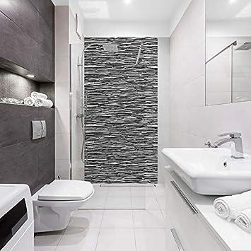 Panneau de douche décoratif Industriel 100x200cm - Revêtement mural ...