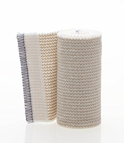 (Non-Sterile Matrix Elastic Bandages,White/beige, Qty 1)