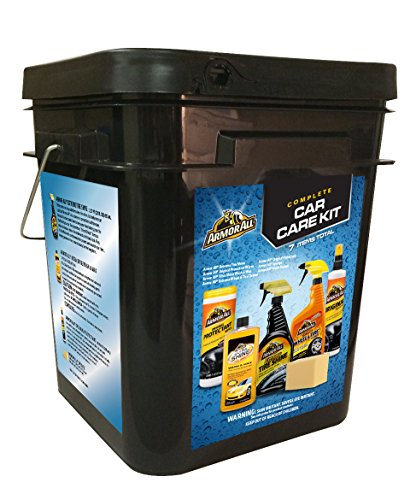 Armor All 18373 1 Pack 7 Piece Car Care Kit Bucket