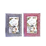 6'' Bling Photo Frames (6Pc/Un) (With Sticky Notes)