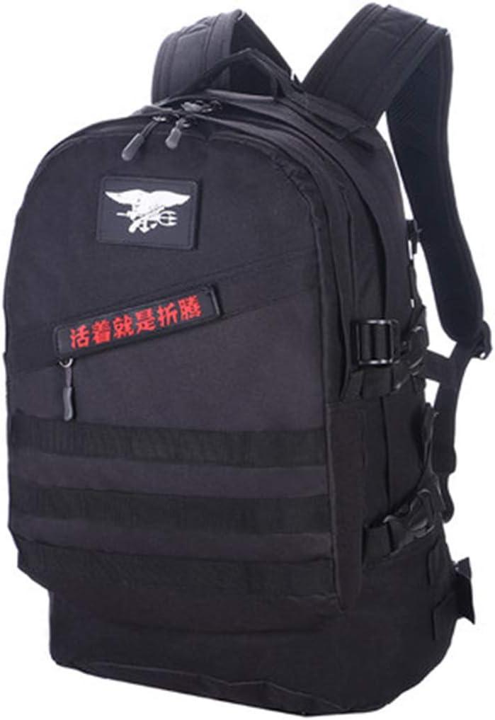 JTWJ 迷彩バックパック男性陸軍ファン用品ハイキング戦術バックパック女性屋外登山バッグ旅行バックパック (Color : 3)