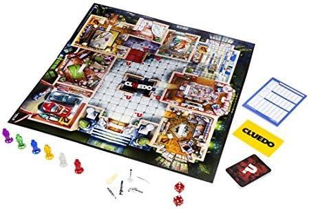 Hasbro Gaming Cluedo-Juego de Misterio (Hasbro 38712105), 40,2 x 5,6 x 27 cm Spain: Amazon.es: Juguetes y juegos