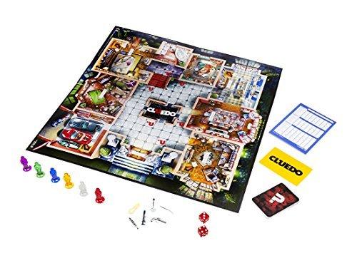 Hasbro Gaming- Cluedo - Juego de Misterio (Hasbro 38712105), 40,2 x 5,6 x 27 cm (Spain