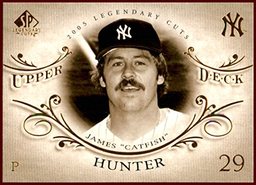 Jim Catfish Hunter HOF NEW YORK YANKEES 2005 SP Legendary Cuts #13 ()
