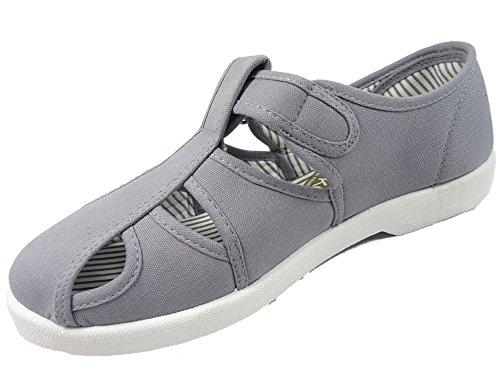 Dr KellerDodd - sandalias hombre gris