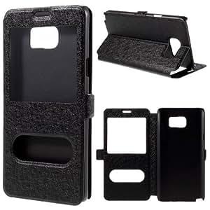 Del caso del tirón del teléfono móvil Caso Business Case Cubierta Negro Samsung Galaxy Note 5 / SM-N920