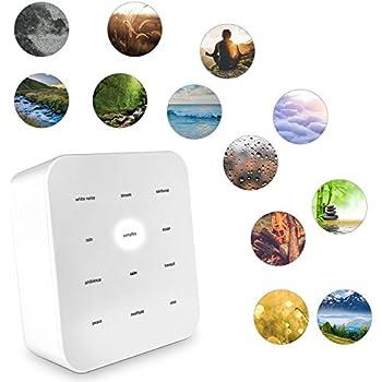 Amazon Com Sharper Image Best White Noise Sound Machine