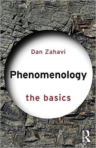 Enter the Phenomenologists
