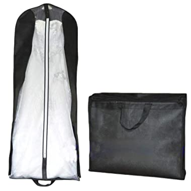 Beilite Wedding Dress Garment Bag Dust Cover Storage Travel Bag