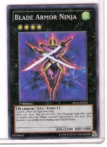 YuGiOh Zexal Order Of Chaos Single Card Blade Armor Ninja ...