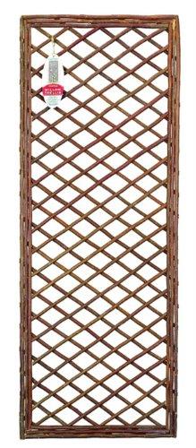 Gardman 60cm x 1.8m Framed Willow Trellis Panel GF3410