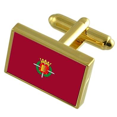 Select Gifts La Ciudad de Valladolid España Bandera de Oro Gemelos ...
