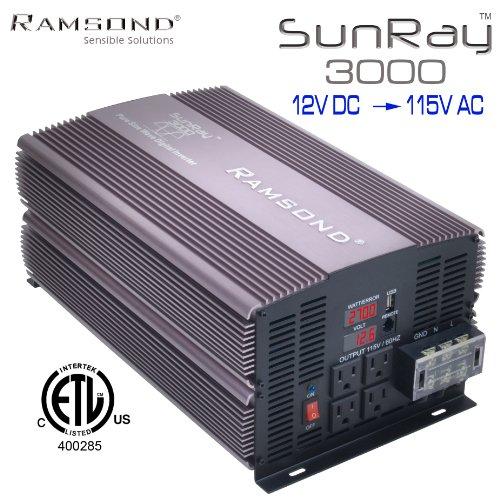 Ramsond SunRay 3000 Generator 12V product image