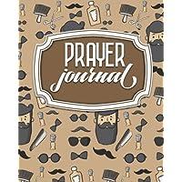 Prayer Journal: Daily Prayer List, Prayer Journal Men, My Prayer Notes, Prayer Request Log, Cute Barbershop Cover