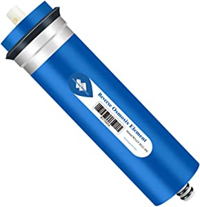 Membrane Solutions RO Membrane, 300 GPD Reverse Osmosis Membrane, 3.0