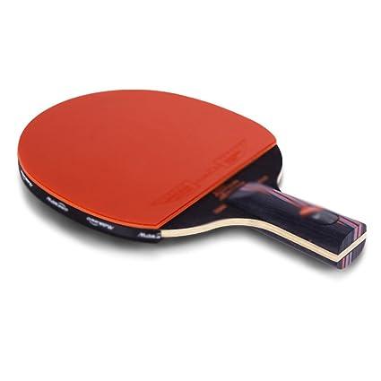 X&M Raqueta de Tenis de Mesa Set Paquete | Incluye 2 Premium (5 Estrellas)